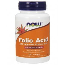 Folic Acid & B12 800 мкг - 250 таб