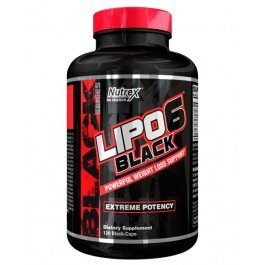 Жиросжигатели Nutrex Research Lipo-6 Black Extreme Potency 120 liqui-caps