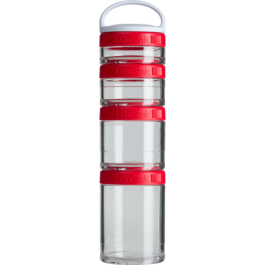 Шейкеры и фляги BlenderBottle Контейнер Go Stak 350 ml Red