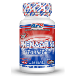Жиросжигатели APS Nutrition Phenadrine with 1.3 Dimethyl