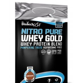 Протеин BioTech USA Nutrition NITRO PURE WHEY GOLD